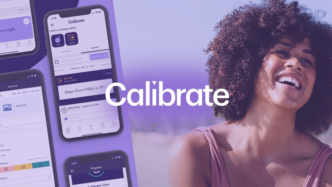calibrate featured image text